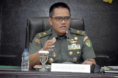 Kasdam III Siliwangi Pimpin Pembukaan Rakornis TMMD ke 105 TA. 2019 1