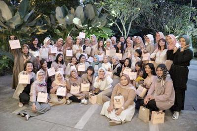 Komunitas Beauty Content Creator Gelar Beauty Class dan Talkshow di Kota Bandung 4
