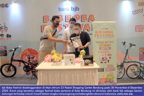 bjb Boba Festival Hidupkan Geliat Industri Kreatif di Tengah Kebangkitan Ekonomi